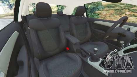 GTA 5 Kia Forte Koup SX [Beta] vista lateral direita