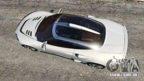 GTA 5 Spyker C8 Aileron voltar vista