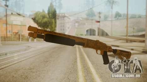 GTA 5 Pump Shotgun para GTA San Andreas