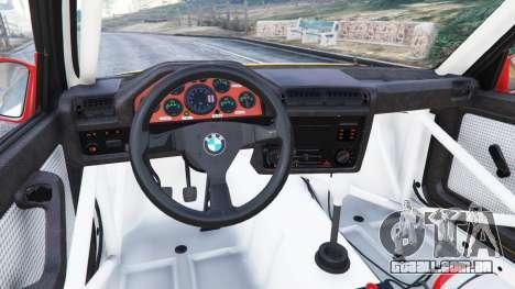 GTA 5 BMW M3 (E30) 1991 [10 strikes] v1.2 vista lateral direita