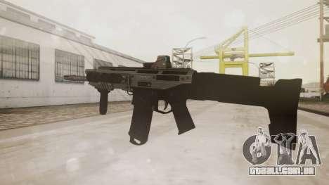 Bushmaster ACR Silver para GTA San Andreas segunda tela