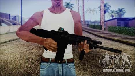Bushmaster ACR para GTA San Andreas terceira tela