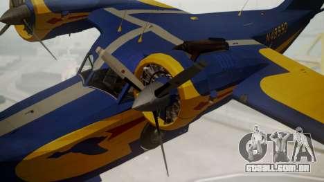 Grumman G-21 Goose N48550 para GTA San Andreas vista direita