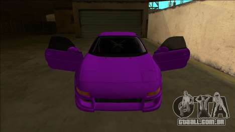 Toyota MR2 Drift para GTA San Andreas interior