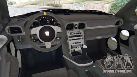 Porsche 911 (997) GT3 RS 2007 para GTA 5
