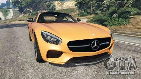 Mercedes-Benz AMG GT 2016 v2.0 para GTA 5