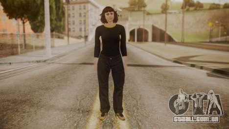 GTA Online - Custom Girl (Lowrider DLC Clothes) para GTA San Andreas segunda tela