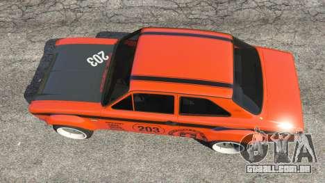 Ford Escort MK1 v1.1 [HRE] para GTA 5