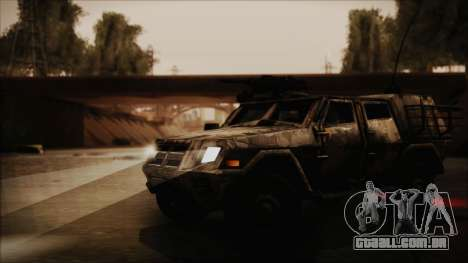 Joint Light Tactical Vehicle para GTA San Andreas vista direita