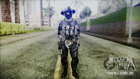 CODE5 China para GTA San Andreas segunda tela