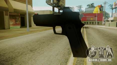 GTA 5 Desert Eagle para GTA San Andreas terceira tela