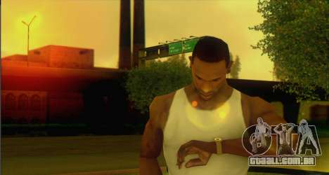 Watches Mod para GTA San Andreas segunda tela
