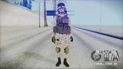 Bundeswehr Desert v1 para GTA San Andreas segunda tela
