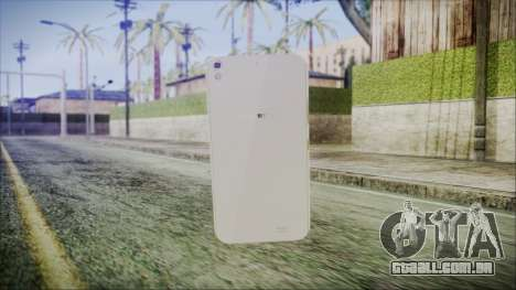 Claresta S5 para GTA San Andreas segunda tela