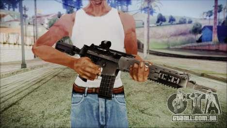 AK 5C para GTA San Andreas terceira tela