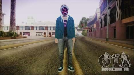 DLC Halloween GTA 5 Skin 1 para GTA San Andreas segunda tela