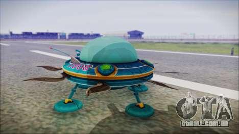X808 UFO para GTA San Andreas