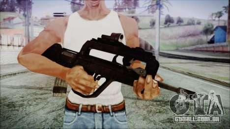 Famas G2 para GTA San Andreas terceira tela