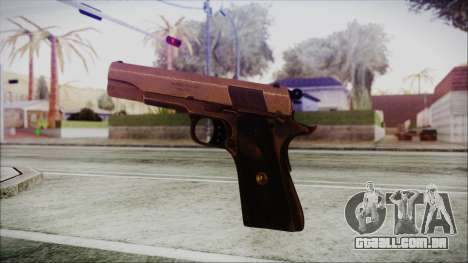 Original Colt 45 HD para GTA San Andreas terceira tela