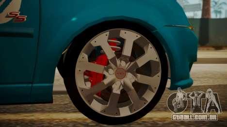 Chevrolet Meriva de Seguridad Vial para GTA San Andreas vista direita