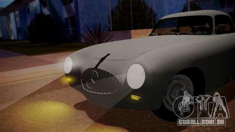 Mercedes-Benz 300 SL (W194) 1952 FIV АПП para GTA San Andreas traseira esquerda vista