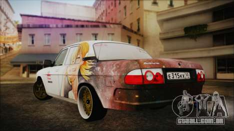 ГАЗ 31105 Deriva (Eterna Summer Edition) para GTA San Andreas esquerda vista