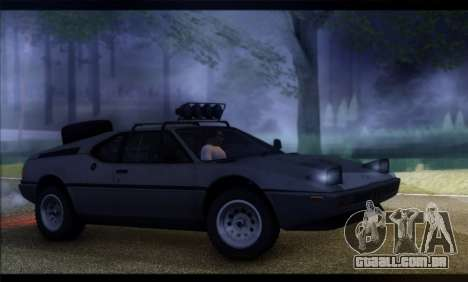 BMW M1 E26 Rusty Rebel para GTA San Andreas