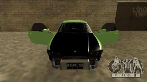 Nissan Skyline R33 Drift para GTA San Andreas vista superior