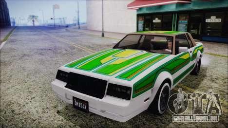 GTA 5 Willard Faction Custom Bobble Version IVF para vista lateral GTA San Andreas