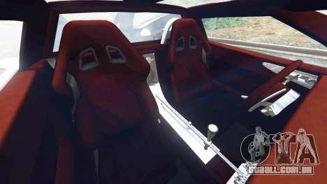 GTA 5 Spyker C8 Aileron vista lateral direita