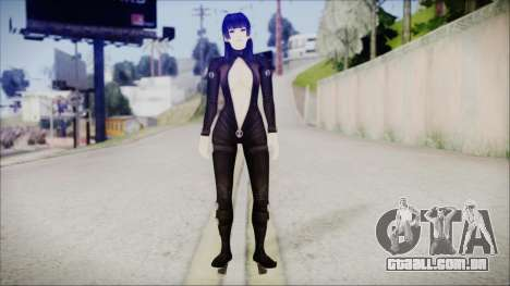 Nyotengu Cos 3 Black Leather para GTA San Andreas