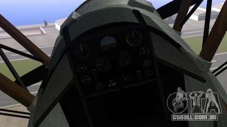 GTA 5 Duster para GTA San Andreas vista direita