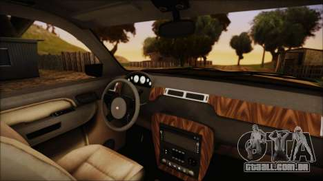 GTA 5 Declasse Granger SA Style para GTA San Andreas vista direita