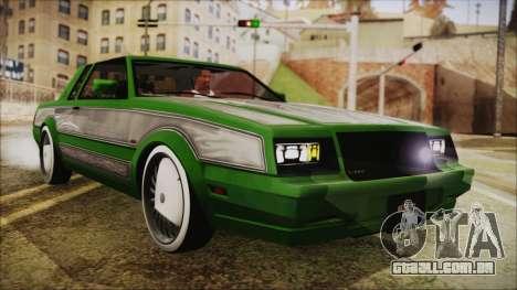 GTA 5 Faction LowRider DLC para GTA San Andreas