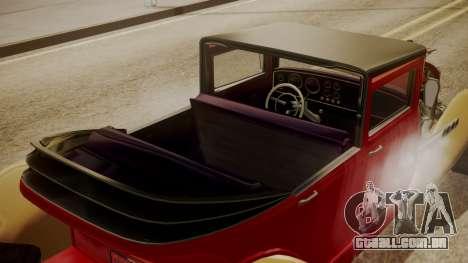 GTA 5 Albany Franken Stange para GTA San Andreas vista interior