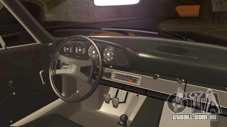 Porsche 911 Carrera RS 2.7 (901) 1973 para GTA San Andreas traseira esquerda vista