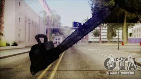 Helloween Chainsaw para GTA San Andreas segunda tela