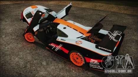 McLaren F1 GTR 1998 para o motor de GTA San Andreas