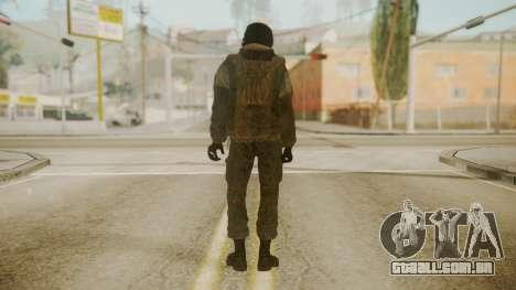 Spetsnaz Operator - 2010s para GTA San Andreas segunda tela
