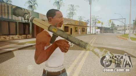 GTA 5 Rocket Launcher para GTA San Andreas terceira tela