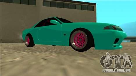 Nissan Skyline R32 para GTA San Andreas vista traseira