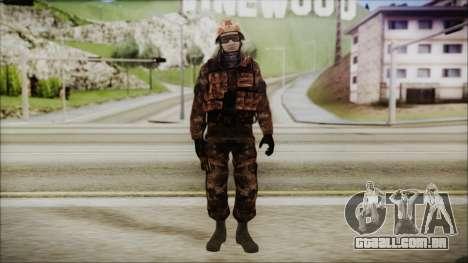Chinese Army Desert Camo 1 para GTA San Andreas segunda tela