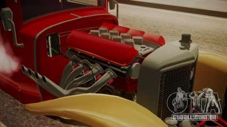 GTA 5 Albany Franken Stange para GTA San Andreas vista traseira