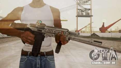 Bushmaster ACR Silver para GTA San Andreas terceira tela