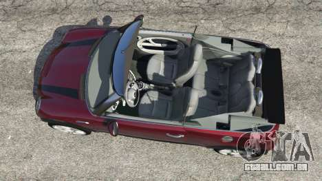 GTA 5 Mini Cooper S Convertible v0.2 voltar vista