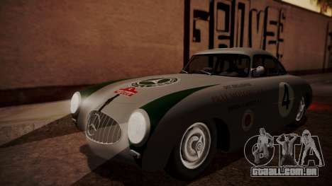 Mercedes-Benz 300 SL (W194) 1952 HQLM para GTA San Andreas vista traseira