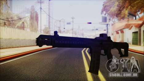 SOWSAR-17 Type G Assault Rifle para GTA San Andreas segunda tela