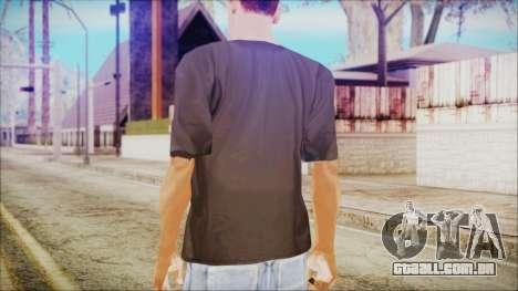 Illuminati T-Shirt para GTA San Andreas segunda tela