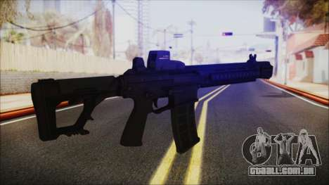 SOWSAR-17 Type G Assault Rifle para GTA San Andreas terceira tela