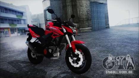 Honda CB150R Red para GTA San Andreas